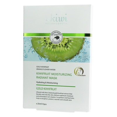 Ukiwi Kiwifruit Moisturizing Radiant Mask 5*25ml