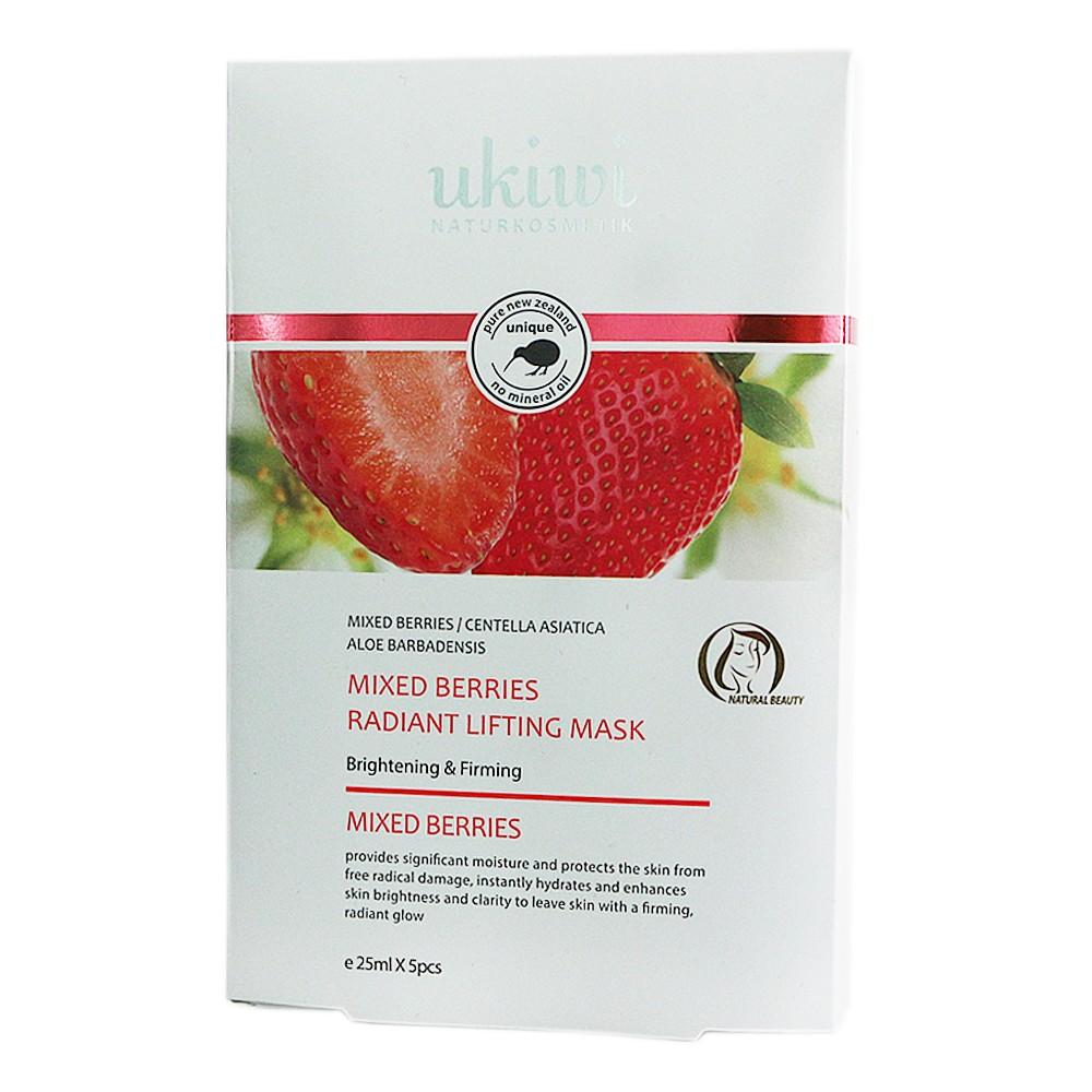 Ukiwi Mixed Berries Radiant Lifting Mask 5*25ml