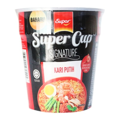 Super Cup Signature White Curry Noodle 98g