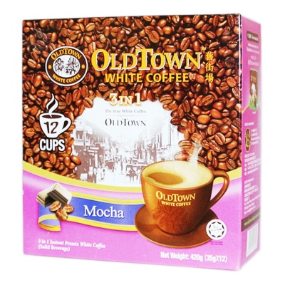 Old Town 3 In 1 White Coffee Mocha 12*35g