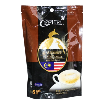 Cephei Traditional White Coffee 3 In 1 200g