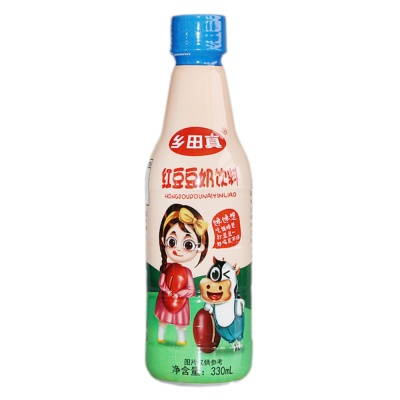 Taiwan Red Bean Soy Milk Drink 330ml