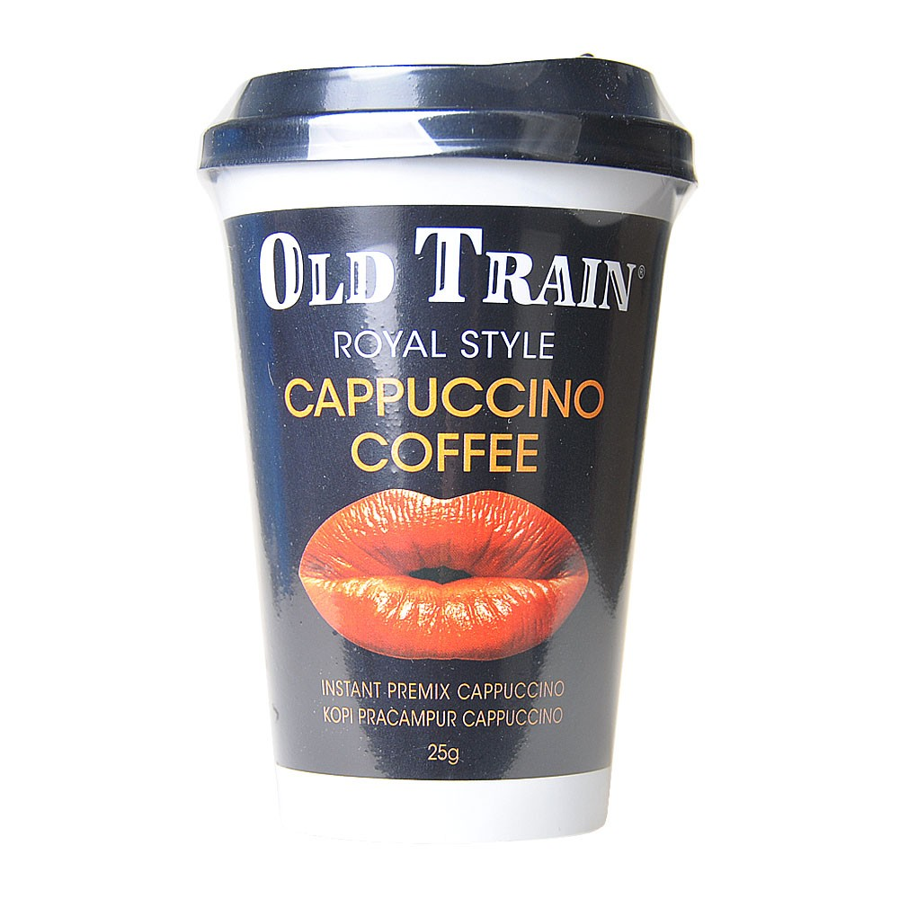 Old Train Royal Style Cappuccino Coffee 25g