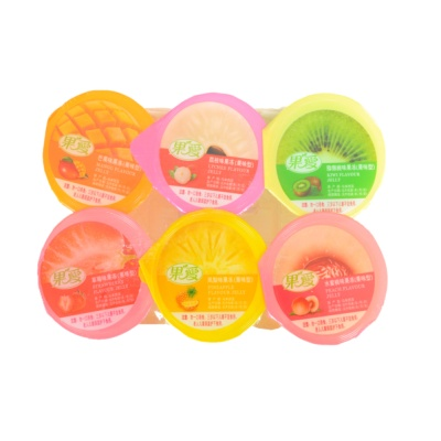 Assorted Fruit Flavour Jelly 6*110g