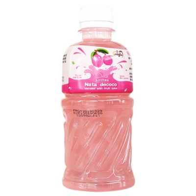 Miiysu Lychee Juice Drink (Coconut) 320ml