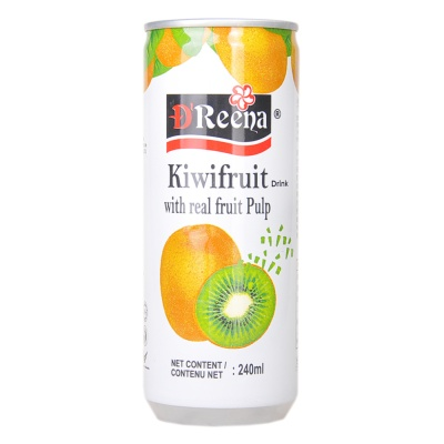 Dreena Kiwifruit Drink with Real Fruit Pulp 240ml