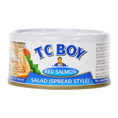 Tc Boy Spread Style red Salmon Salad 180g