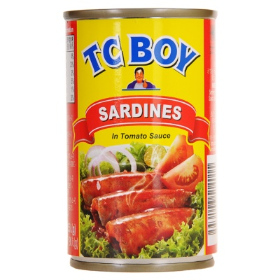 Tc Boy Sardines In Tomato Sauce 155g