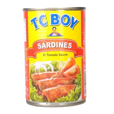 Tc Boy Sardines In Tomato Sauce 425g
