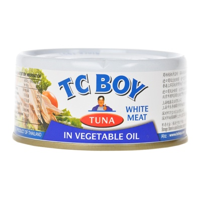Tc Boy Solid White Meat Tuna In Oil 180g
