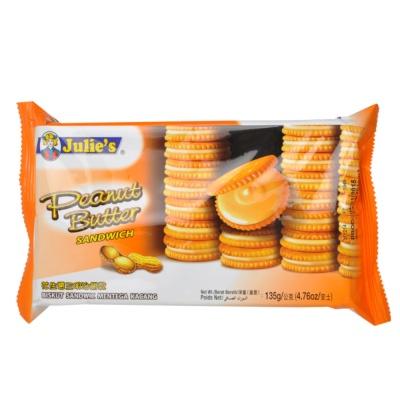 Julie's Peanut Butter Biscuit Sandwich 135g