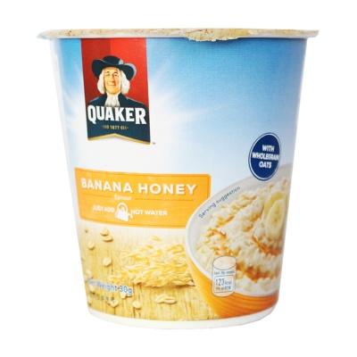 Quaker Banana Honey Oatmeal 30g