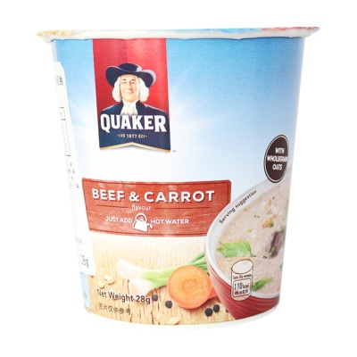 Quaker Beef&Carrot Oatmeal 28g