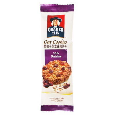 Quaker Oat Cookies With Raisins 27g