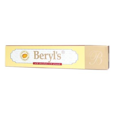 Beryl's Milk Chocolate With Almond 50g