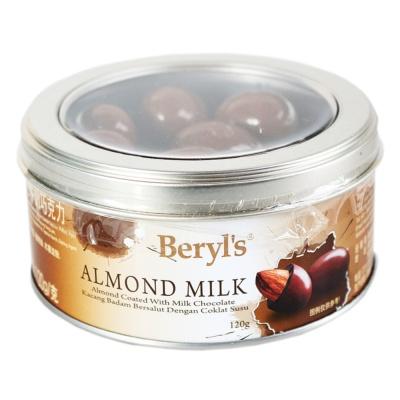 Beryl's Baked Almonds Milk Chocolate 120g