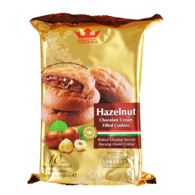 Tatawa Hazelnut Choco Cookies 120g
