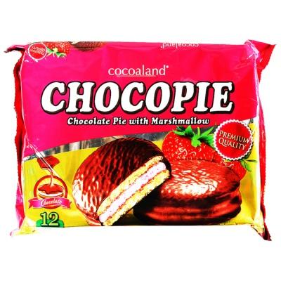 Cocoaland巧克力派草莓味 300g