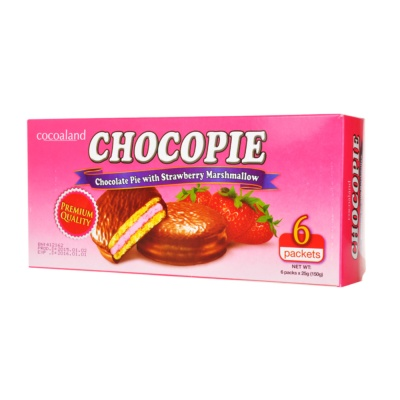 Cocoaland Strawberry Chocolate Pie 150g