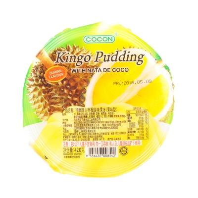 Cocon Kingo Durian Pudding 420g