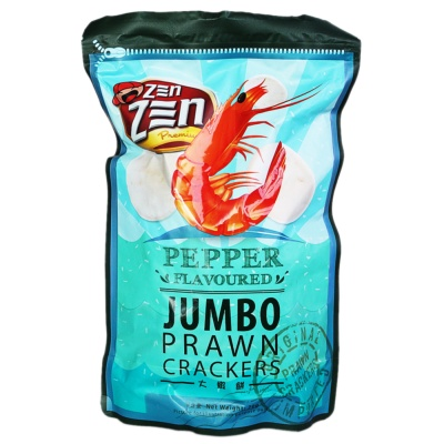 Z三N Pepper Flavoured Jumbo Prawn Crackers 90g