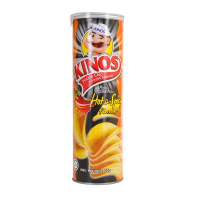 Kinos Hot Spicy Chips 75g