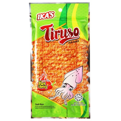 Ika's Tiruso Fish Snack Hot&Spicy 20g