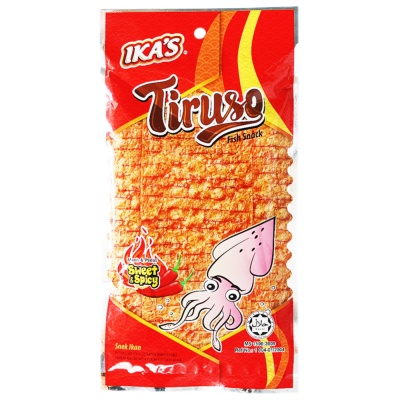 Ika's Sweet & Spicy Flavour Fish Snack 20g