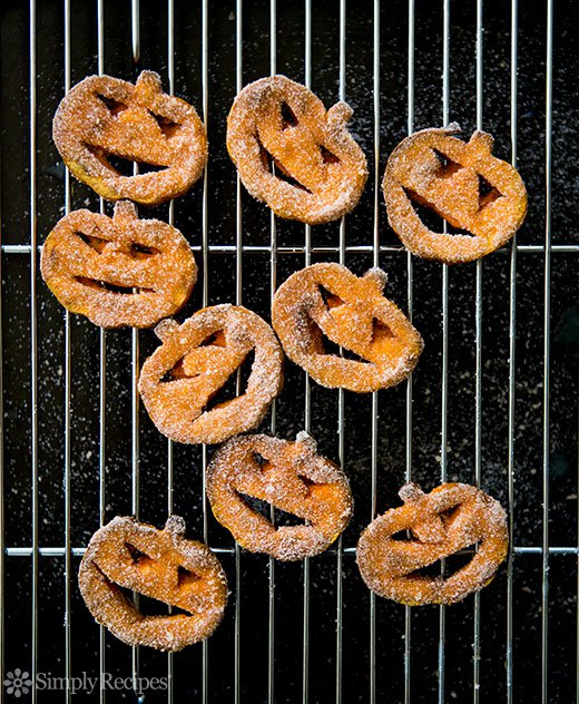 Sweet Potato Jack-o-Lanterns with Cinnamon Sugar (0018)