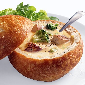 Easy Cheesy Broccoli Chicken Soup (0029)