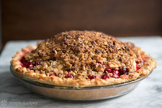 Apple Almond Cranberry Pie (0033)