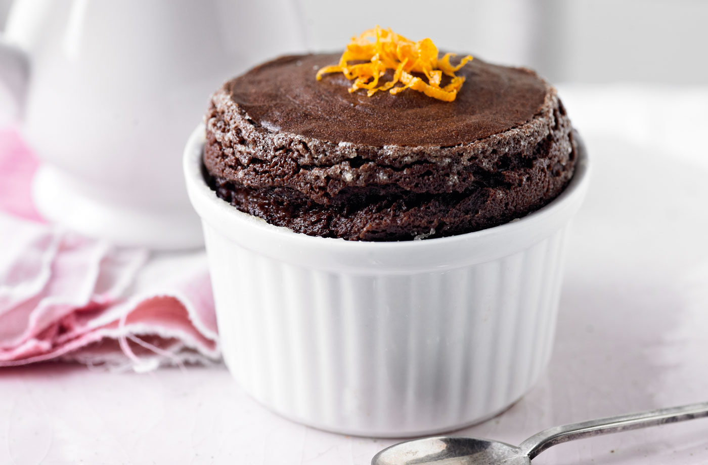 Chocolate orange soufflé recipe (0073)