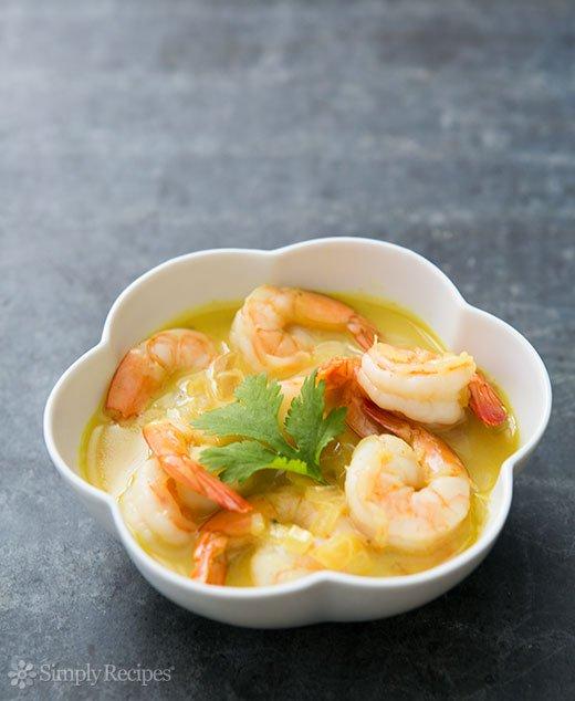 Easy Coconut Shrimp Curry (0094)