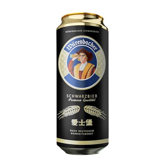 Wurenbacher Schwarzbier Beer 500ml