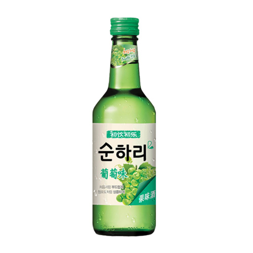 Chum-Churum Soju(Grape Flavor)360ml