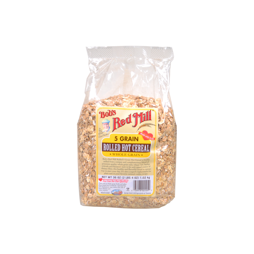 Bob's Red Mill 5 Grain Rolled Hot Cereal 1.02kg