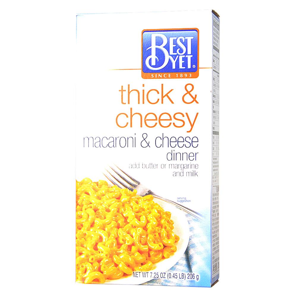 Bestyet Macaroni & Cheese Dinner (Thick & Cheesy) 206g