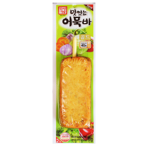 Fishcake Bar With Vegetables 70g