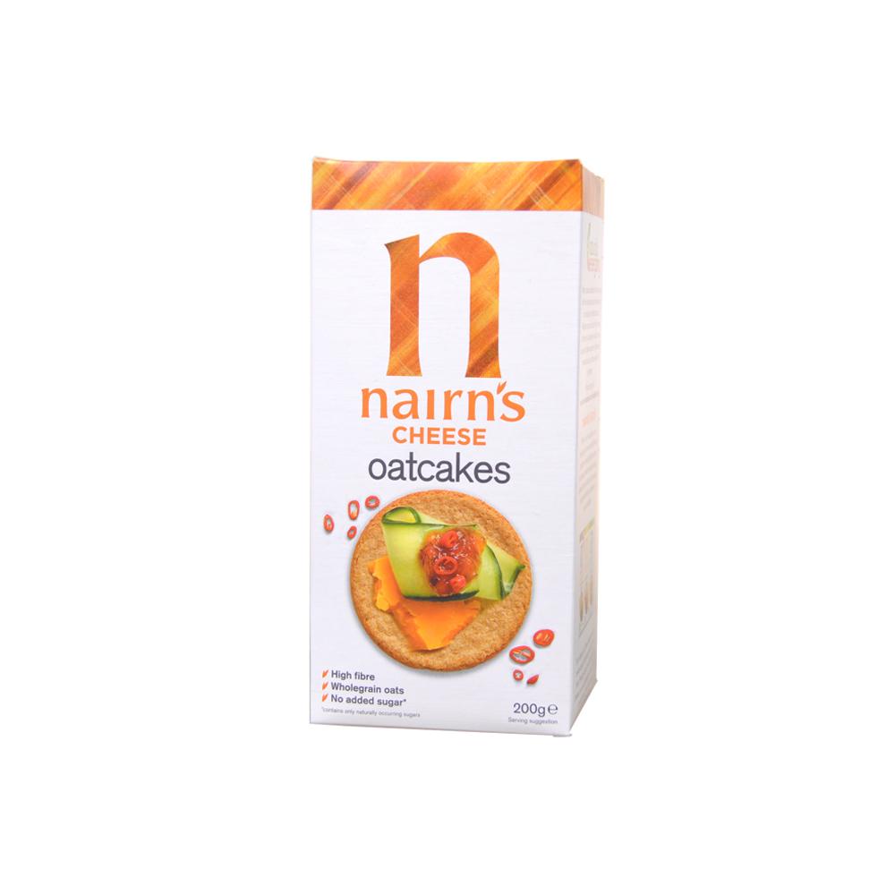 奈尔斯干酪味燕麦饼(佐餐饼干) 200g