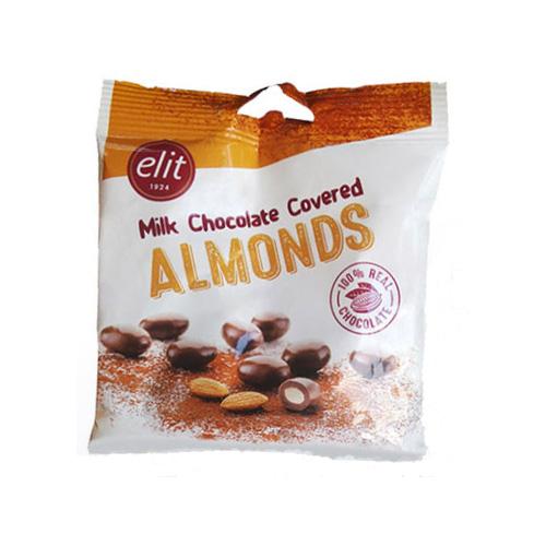 Elit Milk Chocolate Covered Almonds 60g