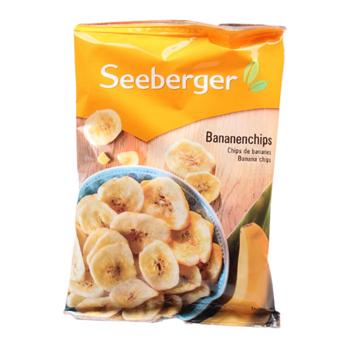Seeberger Banana Chips 150g