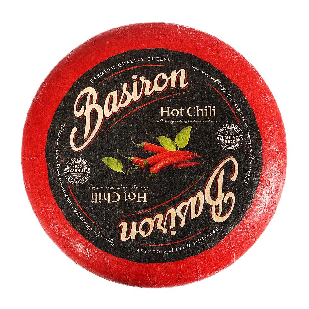 Basiron Hot Chili Cheese 100g - 1