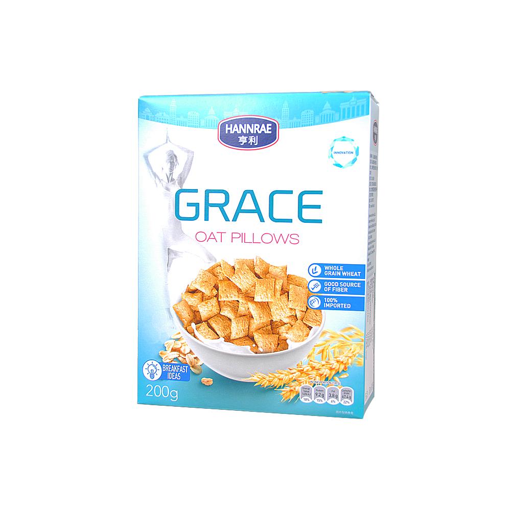 Hannrae Grace Oat Pillows 200g