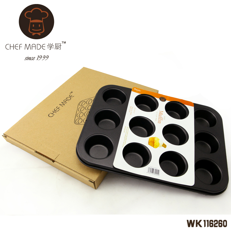 12 Cup Mini Muffin Pan 255*95*22 - 2