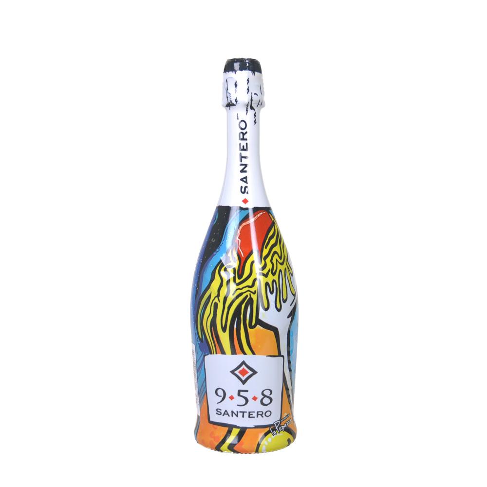圣特罗创意涂鸦起泡葡萄酒 750ml