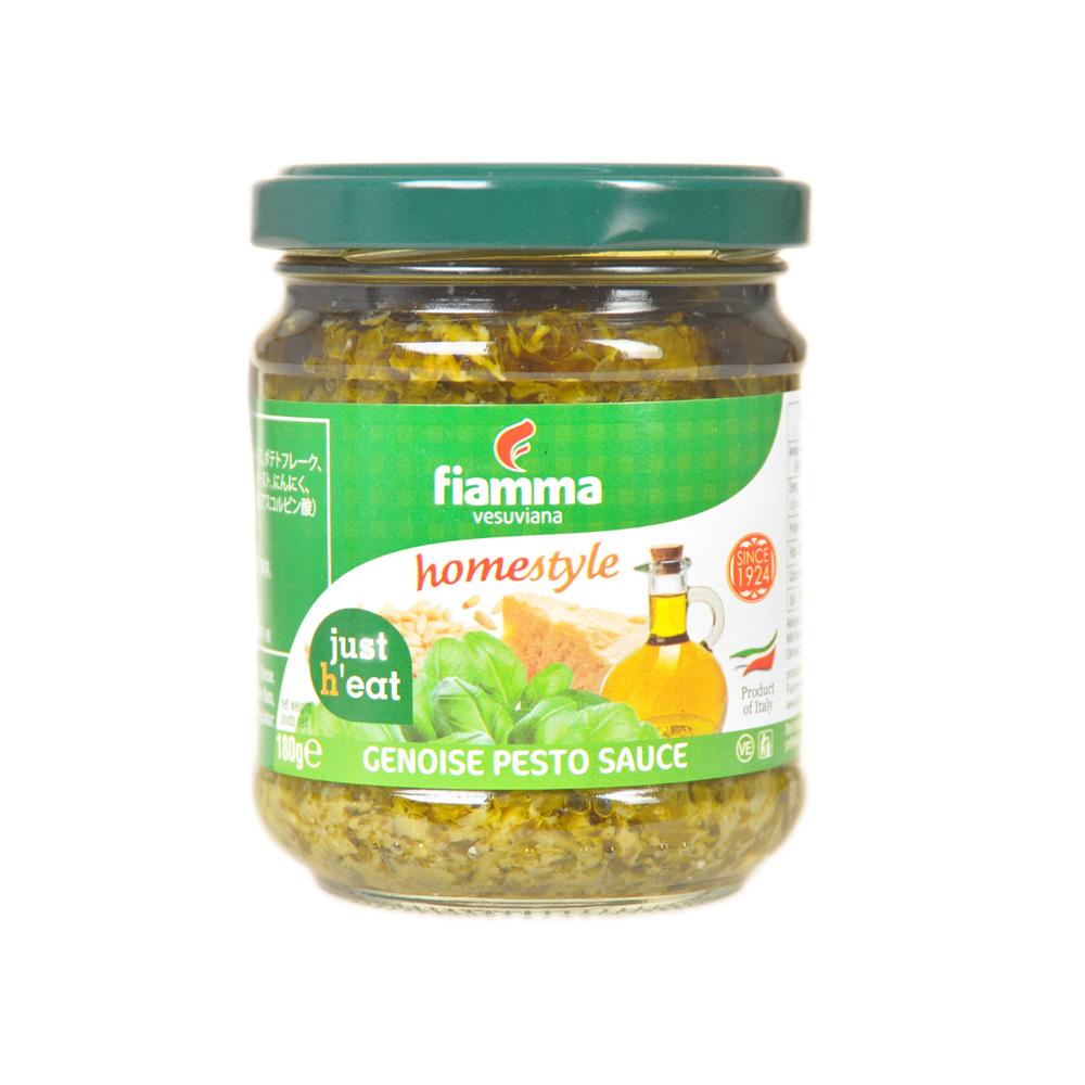 Fiamma Vesuviana Genoise Pesto Sauce 180g