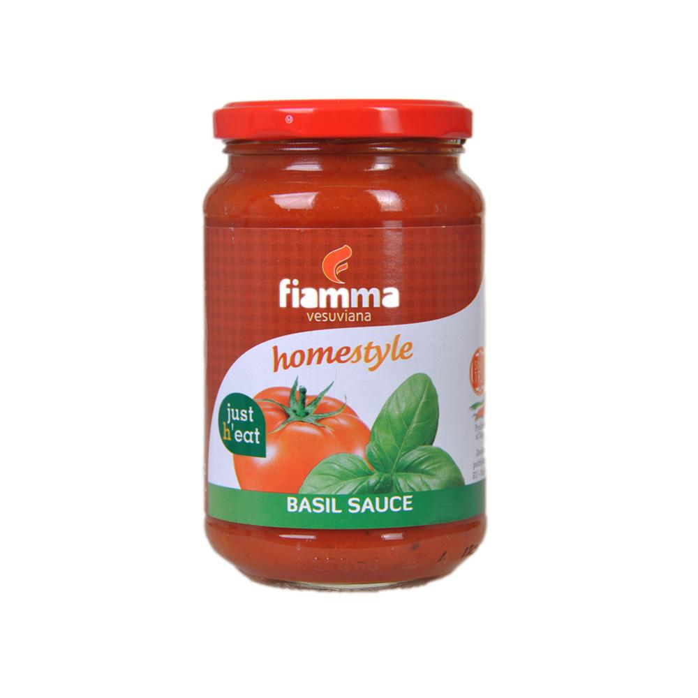 Fiamma Vesuviana Homestyle Basil Sauce 350g
