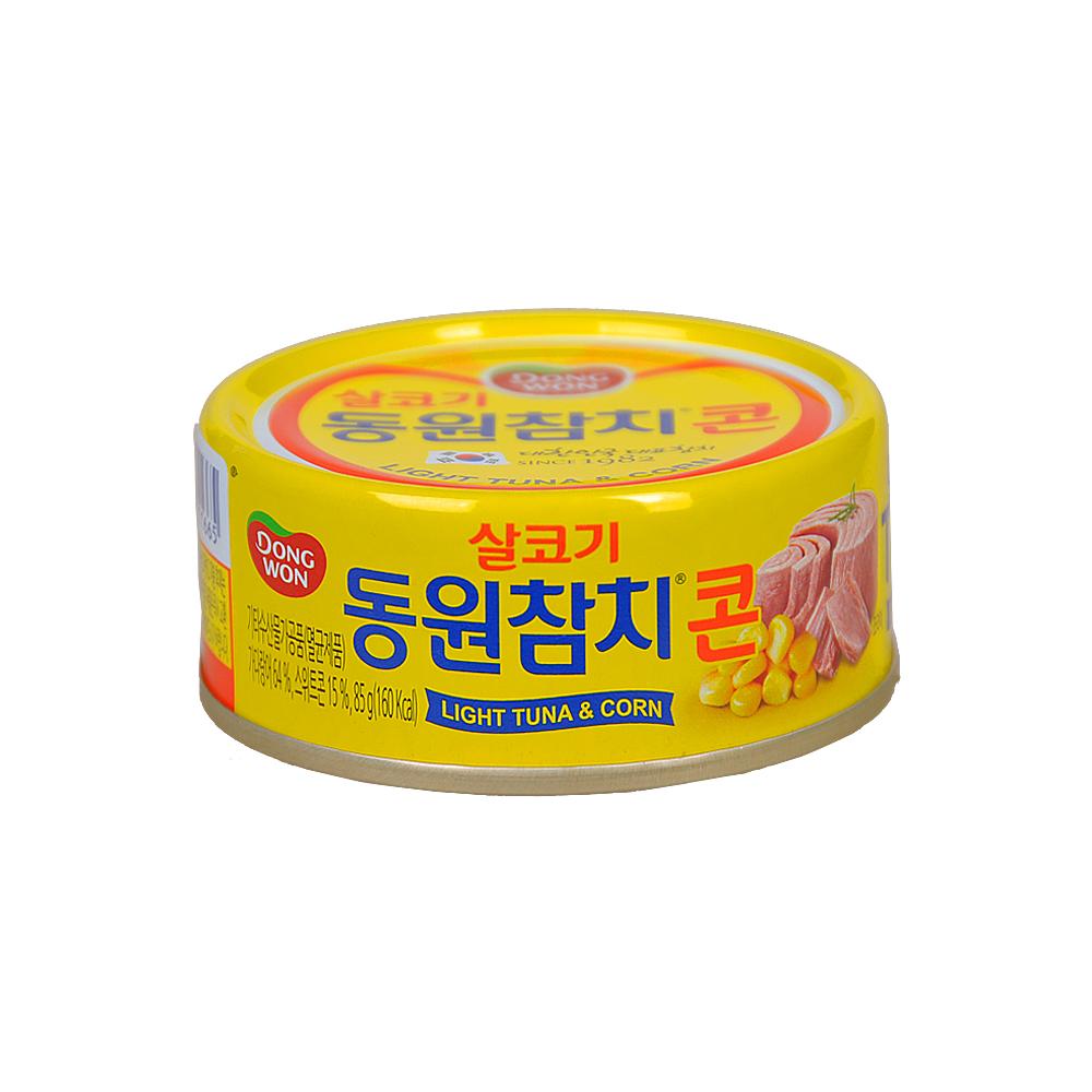 Dong Won Light Tuna & Corn 85g