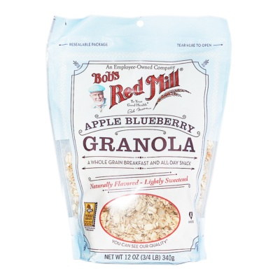 Bob's Red Mill Apple Blueberry Granola 340g