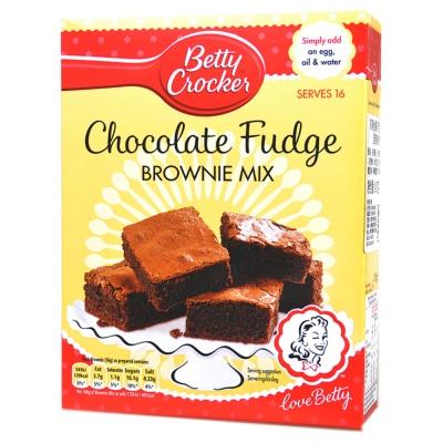 贝蒂妙厨巧克力味布朗蛋糕制作用粉 415g